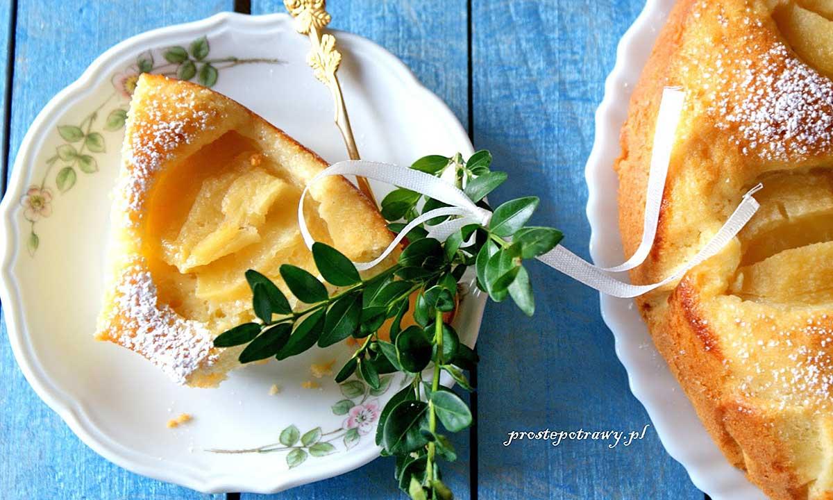 Ciasto kokosowe z jabłkami - przepis na WIELKANOC i nie tylko...