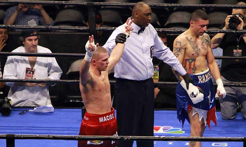 Łukasz Maciec zwyciężył w Barclays Center w Nowym Jorku - zdjęcia