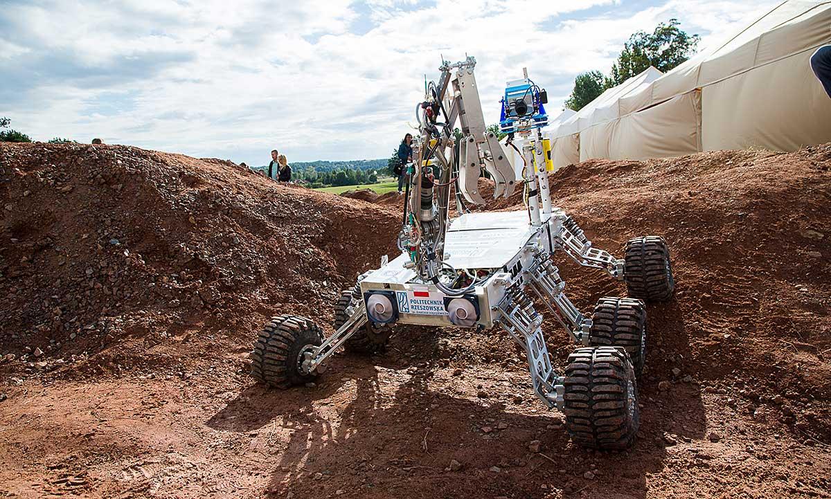 Wielki sukces Polaków na University Rover Challenge w Utah