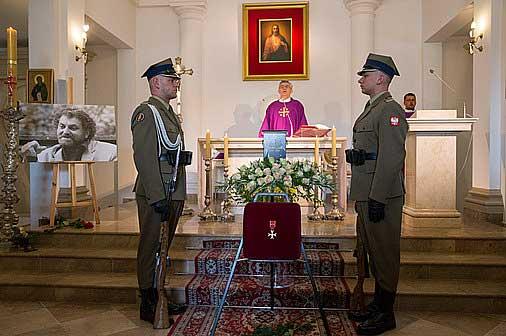 Pogrzeb Andrzeja Kondratiuka. Foto Andrzej Hrechorowicz