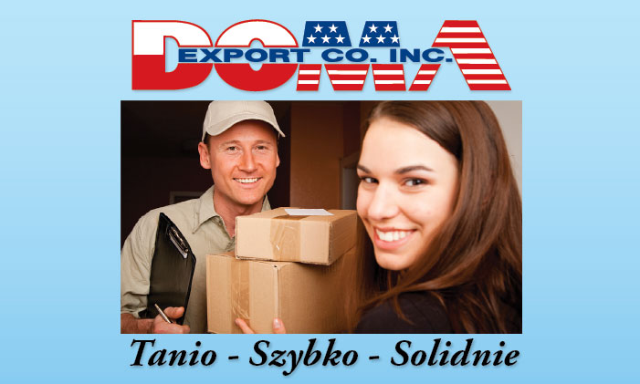 Shipping  from USA to Poland and Europe - Doma Export
