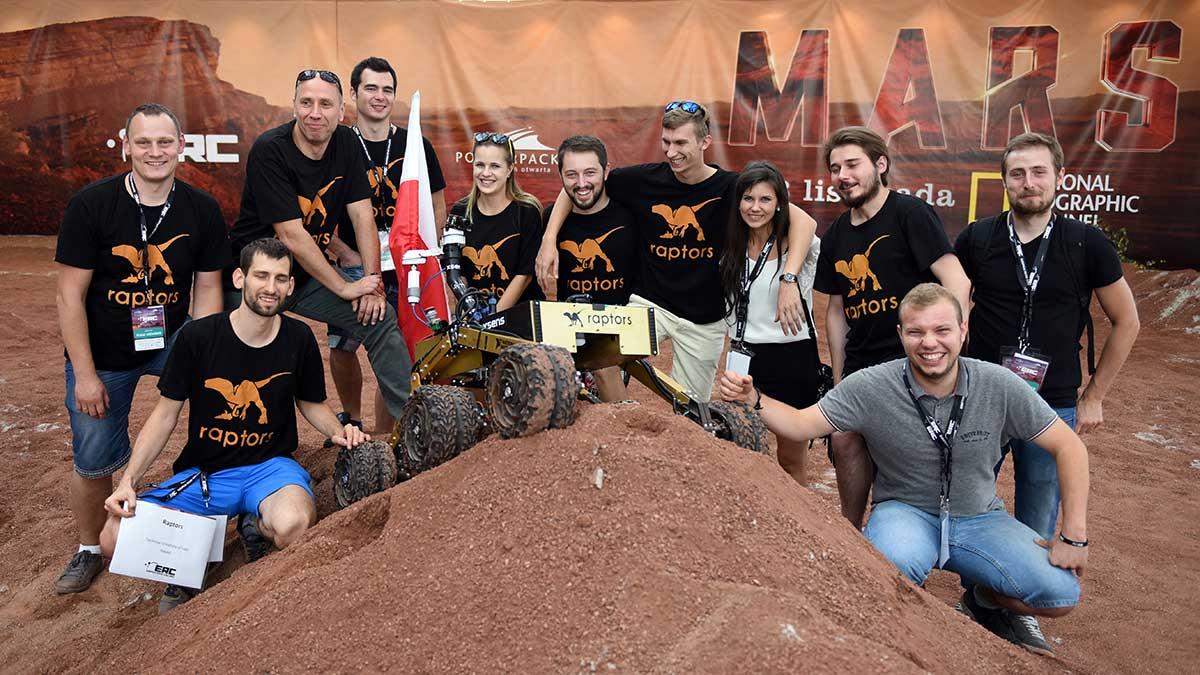 Tryumf polskich drużyn w Konkursie Łazików Marsjańskich, European Rover Challenge 2016