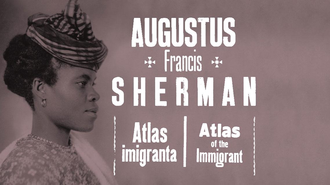 Portrety imigrantów z wyspy Ellis z Nowego Jorku