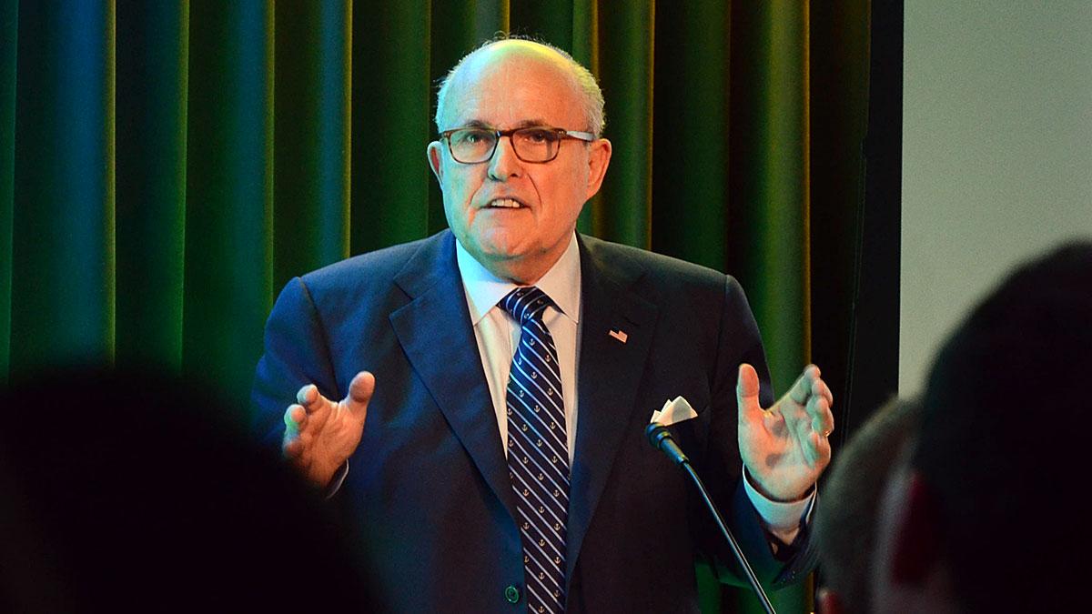 On January 12, 2017, then President-elect Trump named Giuliani his informal cybersecurity adviser. Foto: M. Stefanski / MSZ
