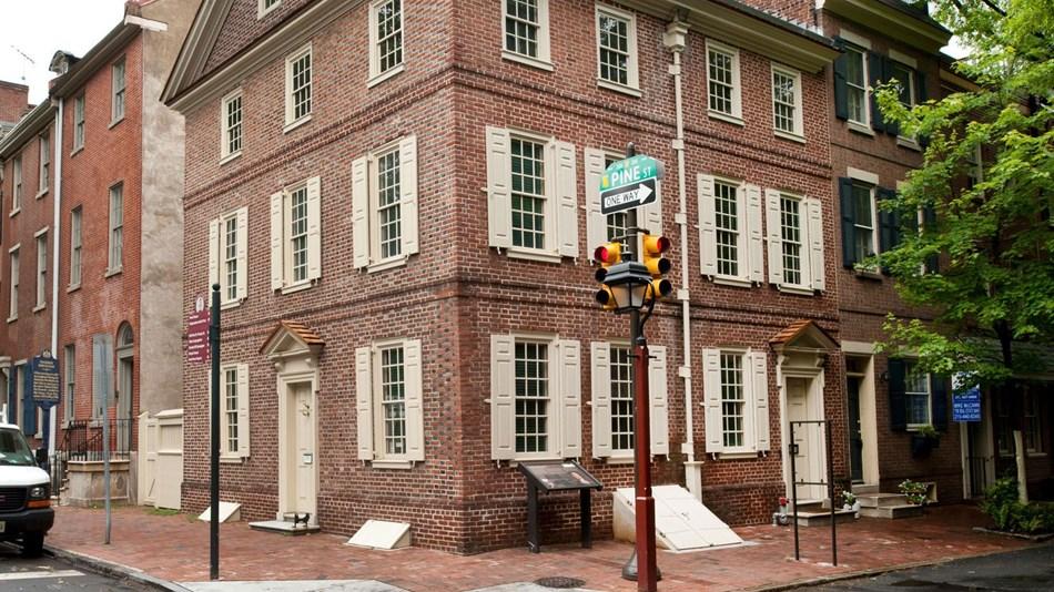 The Kosciuszko House in Philadelphia