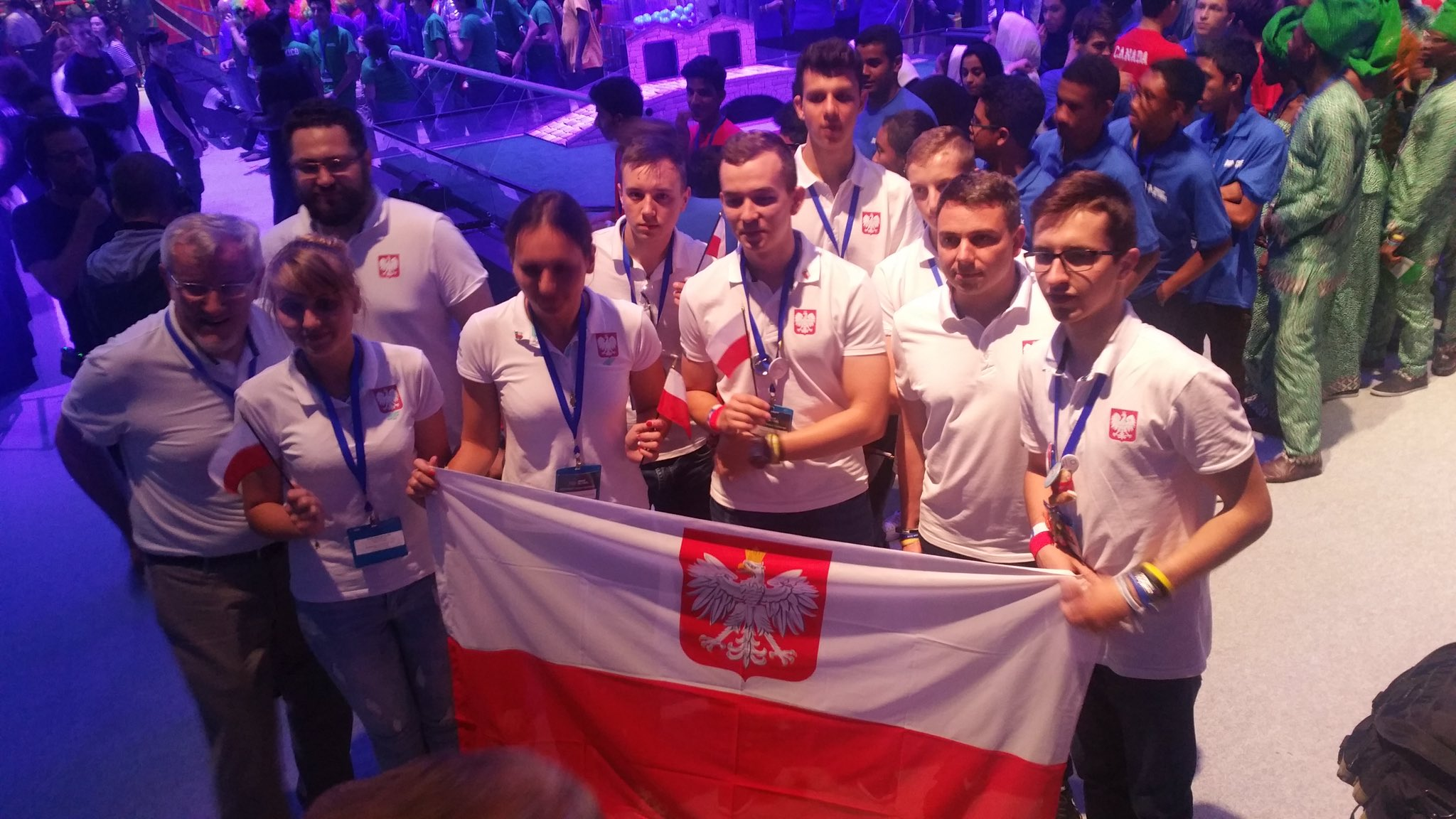 USA: TeamPoland Second at the FIRST Global Robotics Competition in Washington, DC