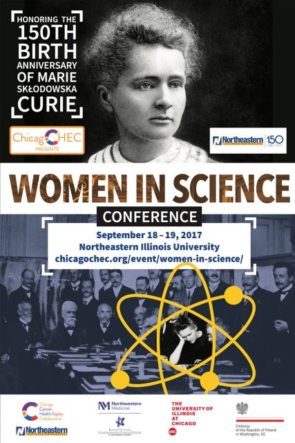 Chicago: Women in Science Conference - Marie Sklodowska-Curie
