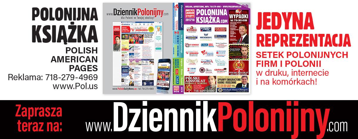 Wydanie POLONIJNEJ KSIĄŻKI 2017-18