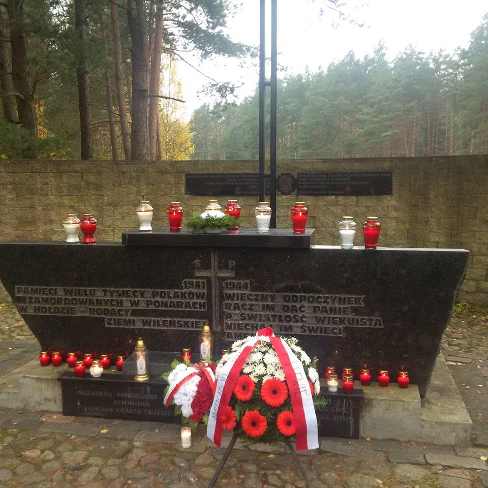 Zdjęcie: Ambasada Rzeczypospolitej Polskiej w Wilnie