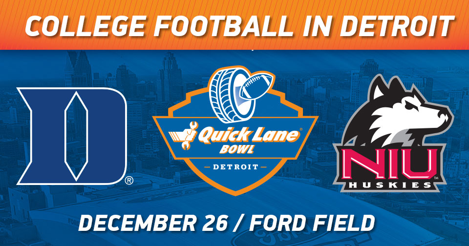 Fabulous Ford Field to Host Boxing Day Bowl Game Indoors