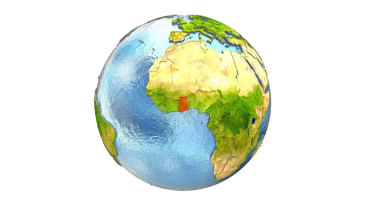 Satelita z Afryki