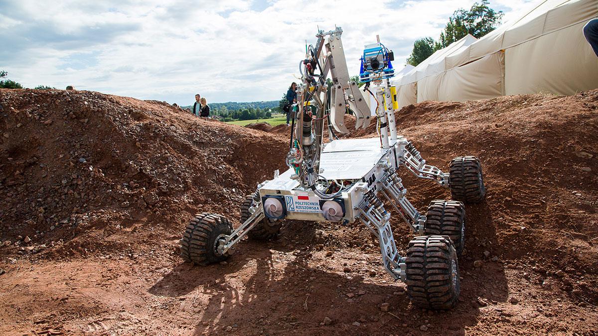 European Rover Challenge 2018 - krok do kariery w branży kosmicznej