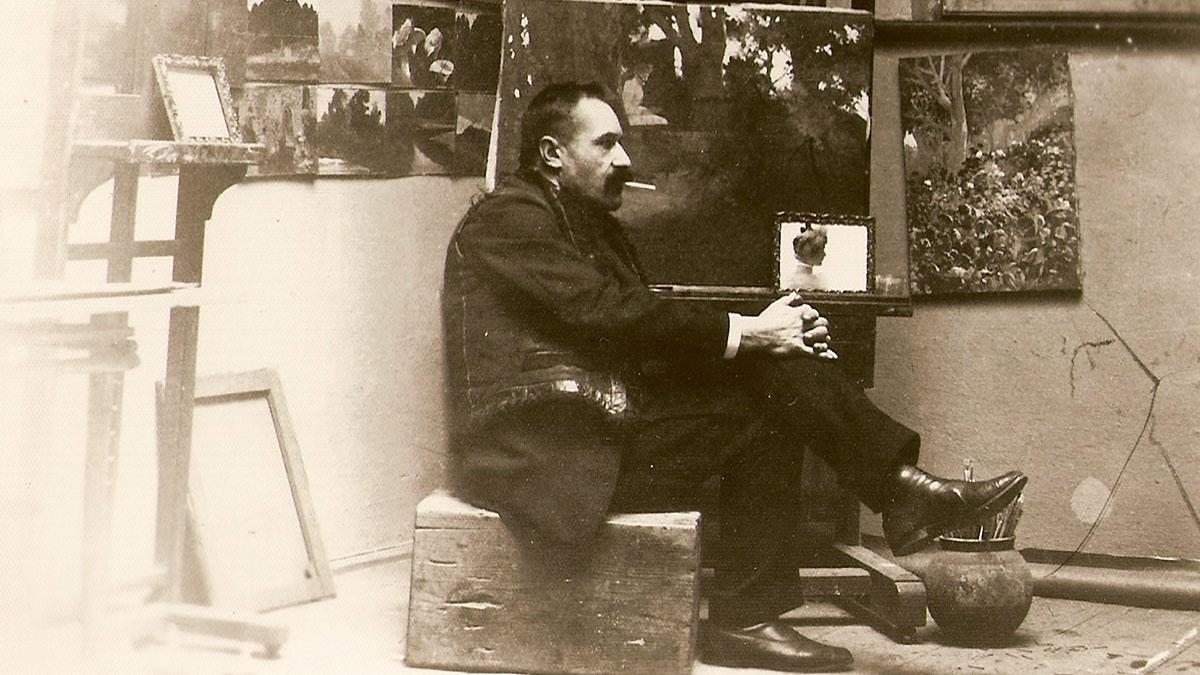 Apolinary Kotowicz - malarz pejzażysta