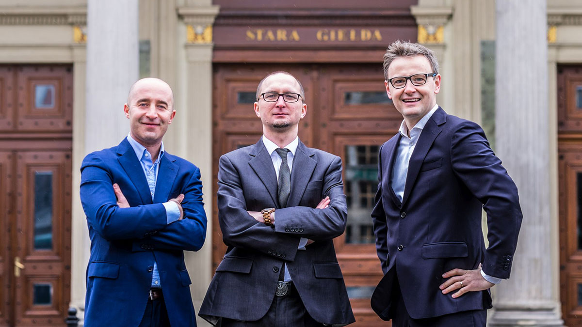 Od lewej: Wojciech Mróz, Dariusz Szczurek, Marcin Łuczyn. Fot. TestArmy Group