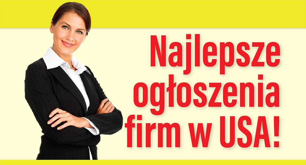 Jedyna taka dobra reklama polskich firm w USA. Nowa oferta