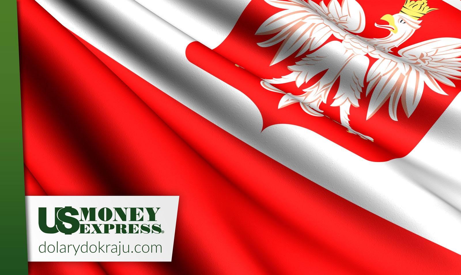Przekazy pieniężne do Polski z US Money Express z agencji i przez internet, z domu