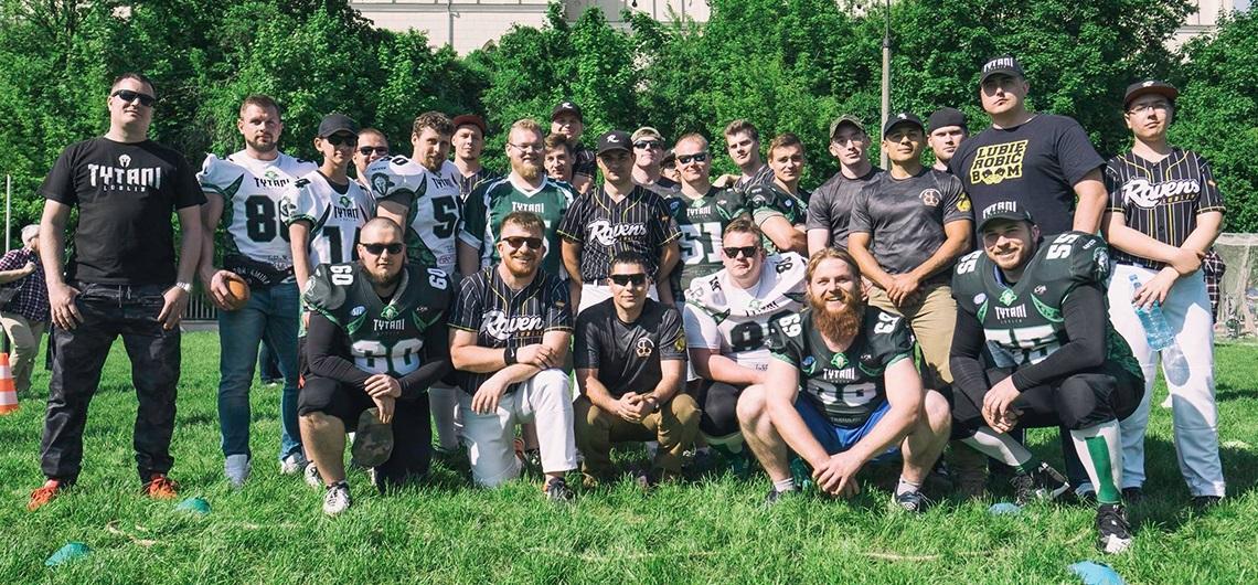 Marines na pikniku sportów amerykańskich w ramach Sports UP (U – USA oraz P – Polska)