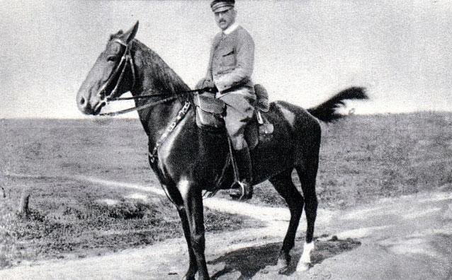Twórca artylerii Legionów Polskich generał brygady Ottokar Brzoza-Brzezina