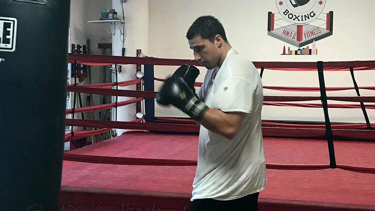 Nick Mazurek wrócił do treningów i przygotowuje się do kolejnej walki