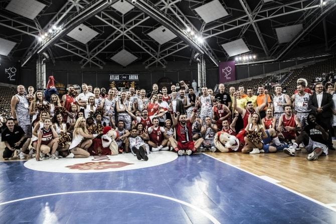 Mecz Gortat Team vs Wojsko Polskie