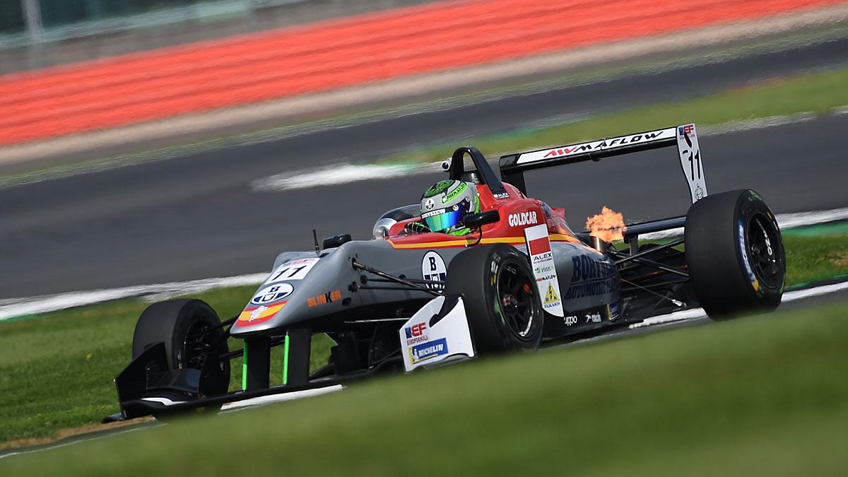 Alex Karkosik o włos od podium F3 na Silverstone, teraz Verva Street Racing