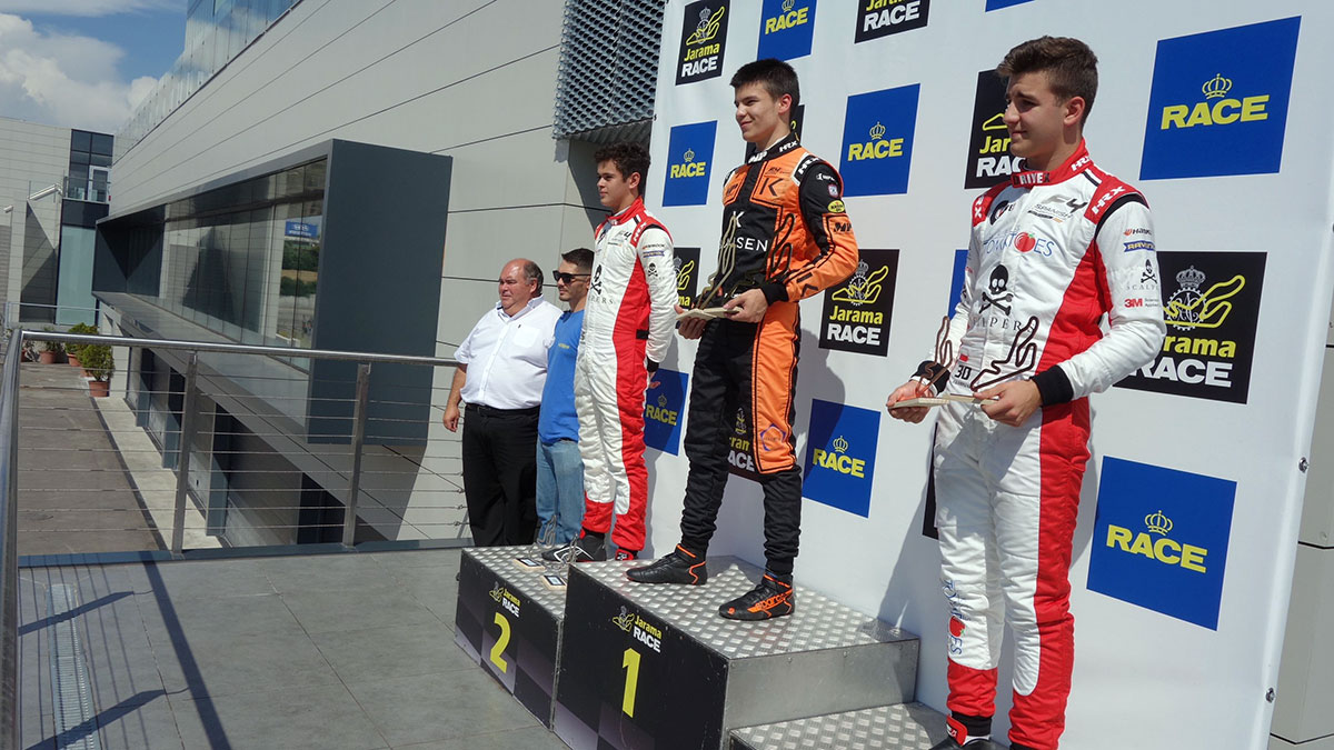 Filip Kaminiarz po raz pierwszy na podium w Formule 4