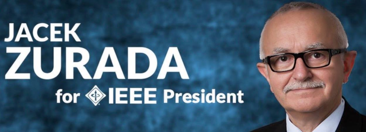 The Kosciuszko Foundation Endorses Prof. Jacek Zurada, one of three candidates in IEEE Annual Elections