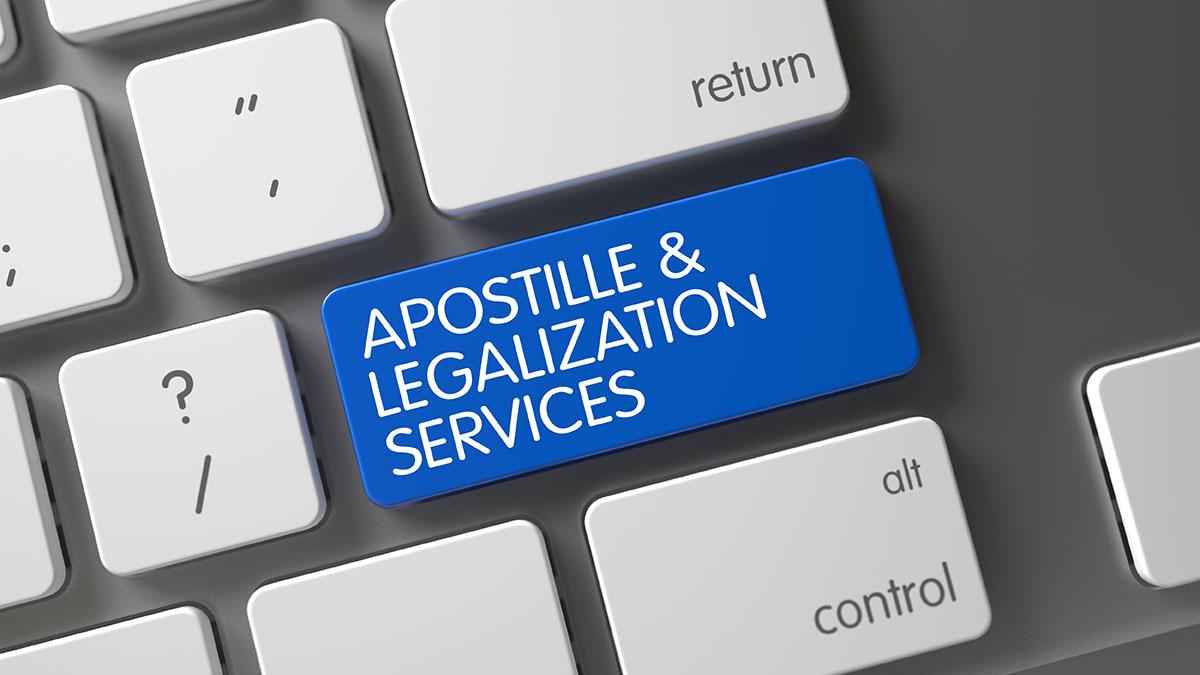 Apostille i legalizacja dokumentu urzędowego w USA