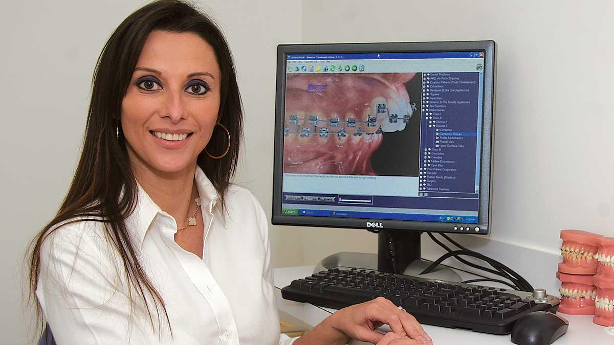 Dentysta Dagmara Sperling w Nowym Jorku z NORMAN DENTAL CENTER