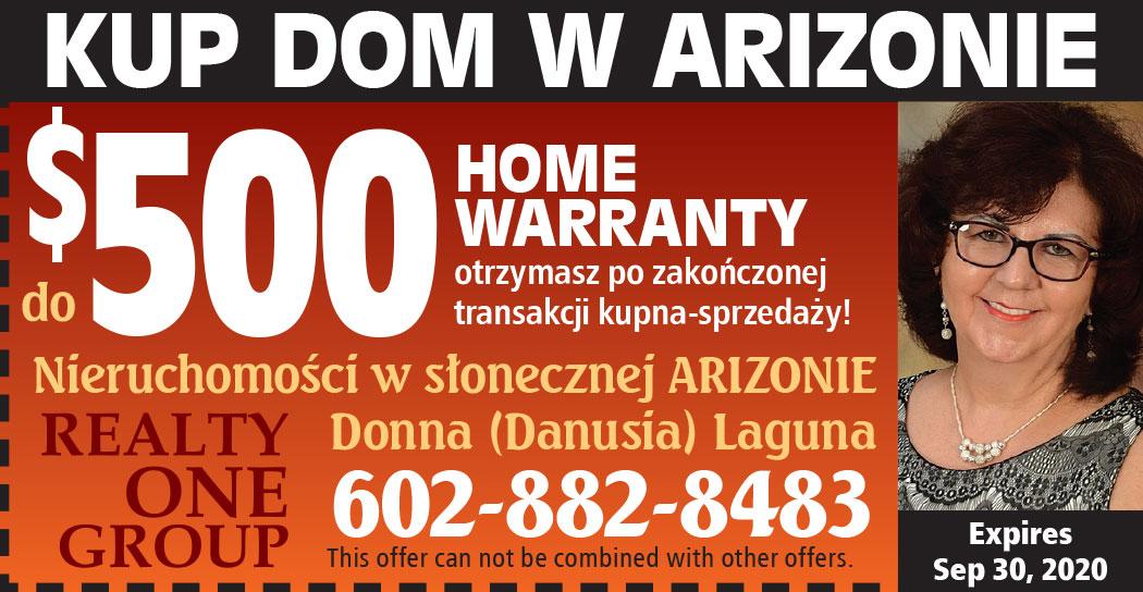 Domy na sprzedaż dla Polaków w Arizonie u Danusi