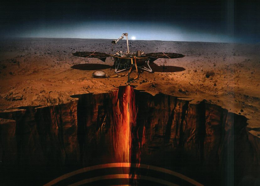 "NASA InSight Mission, with Polish  ""Mole"" (KRET), has landed on Mars"