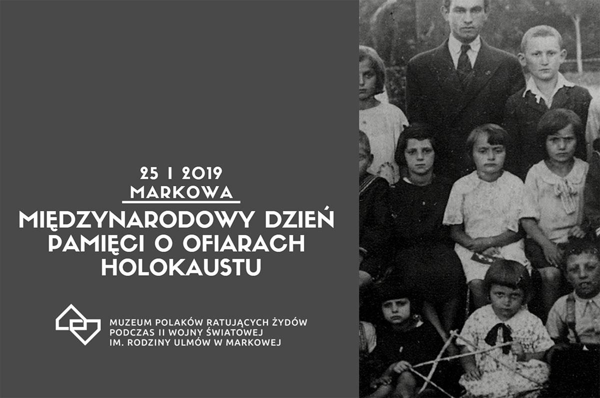 Międzynarodowy Dzień Pamięci o Ofiarach Holokaustu w Markowej