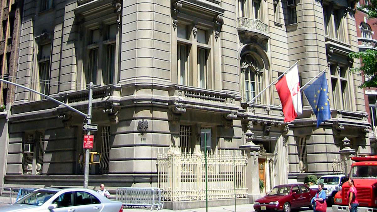 Konsulat RP w Nowym Jorku. Nowe, na rok 2020, godziny i dni otwarcia oraz zamknięcia konsulatu