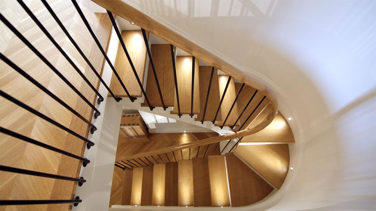 Schody, elementy wystroju wnętrz w NY, NJ, PA, CT z polskiej firmy Atlantic Architectural Stairs - katalog