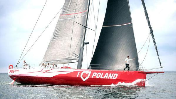 I Love Poland Wins Her First Regatta!
