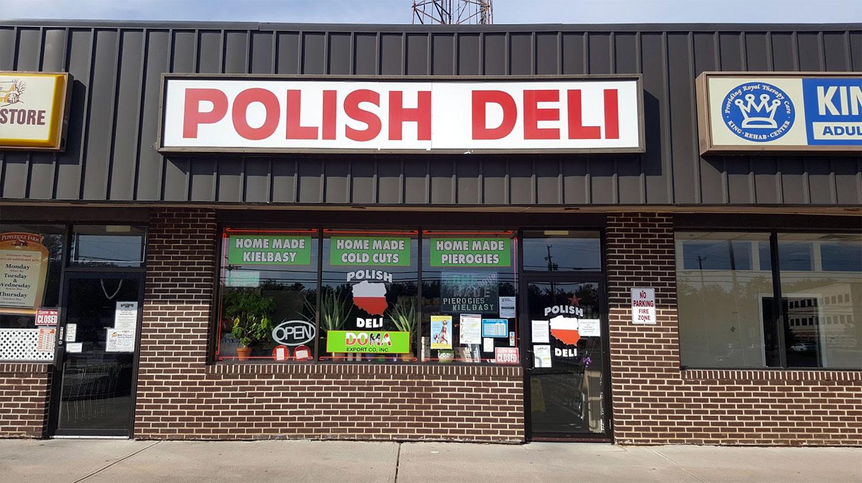 W Toms River w NJ zrobisz zakupy i wyślesz paczki do Polski w Dariusz Polish Deli & Grocery