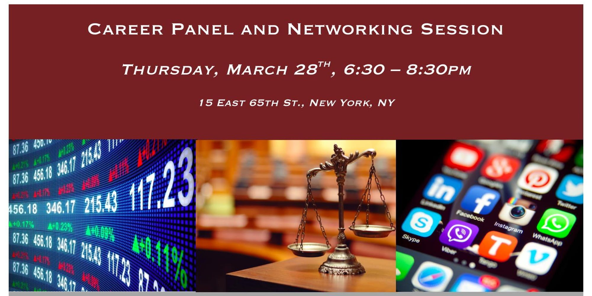 NYC: Career Panel & Networking Session for Students and Young Professionals