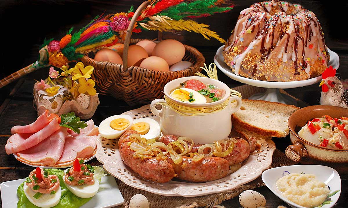 Traditional Polish Food for Easter in USA - Polish Stores and Online