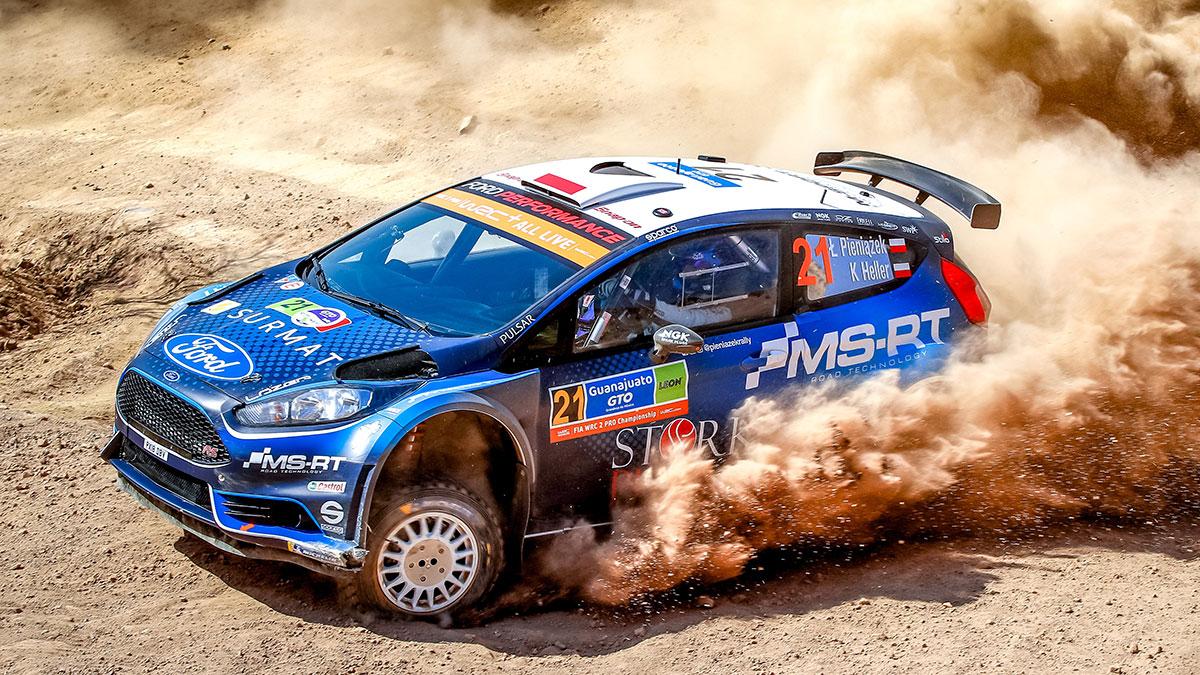 Łukasz Pieniążek w Mistrzostwach Świata klasy WRC 2 Pro