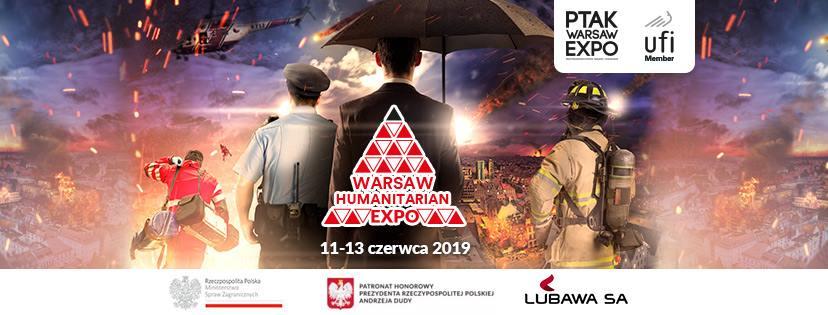 Pierwsze w Polsce Warsaw Humanitarian Expo