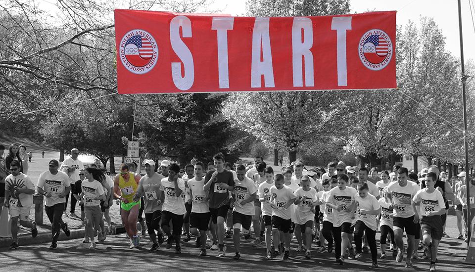Coroczny bieg Polonia 5K Run i Kids Race w Garfield, NJ