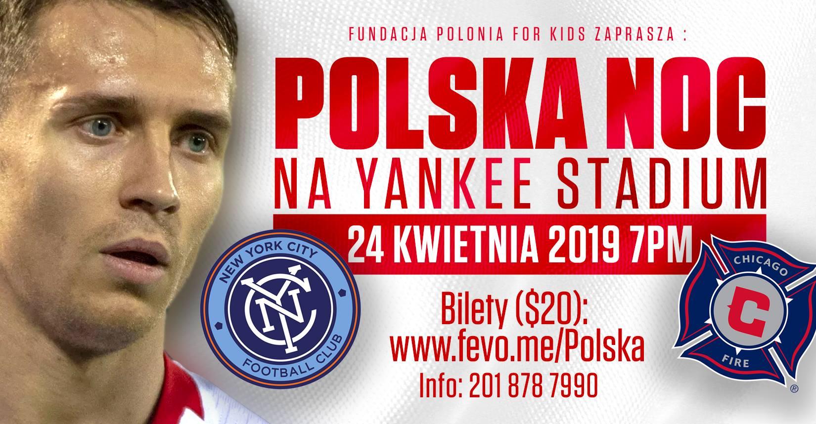 Polish Night with Przemyslaw Frankowski at Yankee Stadium in New York
