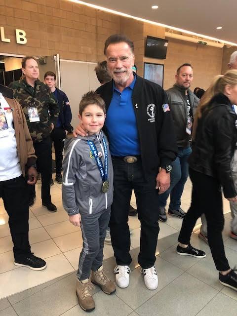 Arnold Schwarzenegger pogratulował Karolowi Karnas wygranej w zawodach szermierczych Arnold Fencing Classic 2019