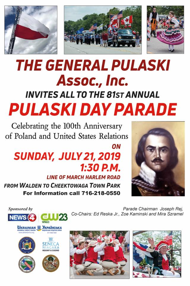 The 81st General Pulaski Parade in Cheektowaga, NY