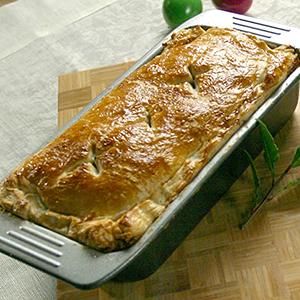 Pyszna Wielkanoc - TVN Style - przepisy Anny Starmach - Ciasto francuskie z farszem mięsnym z jajami