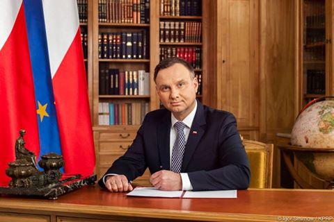 Prezydent Andrzej Duda pogratulował nowemu prezydentowi Ukrainy