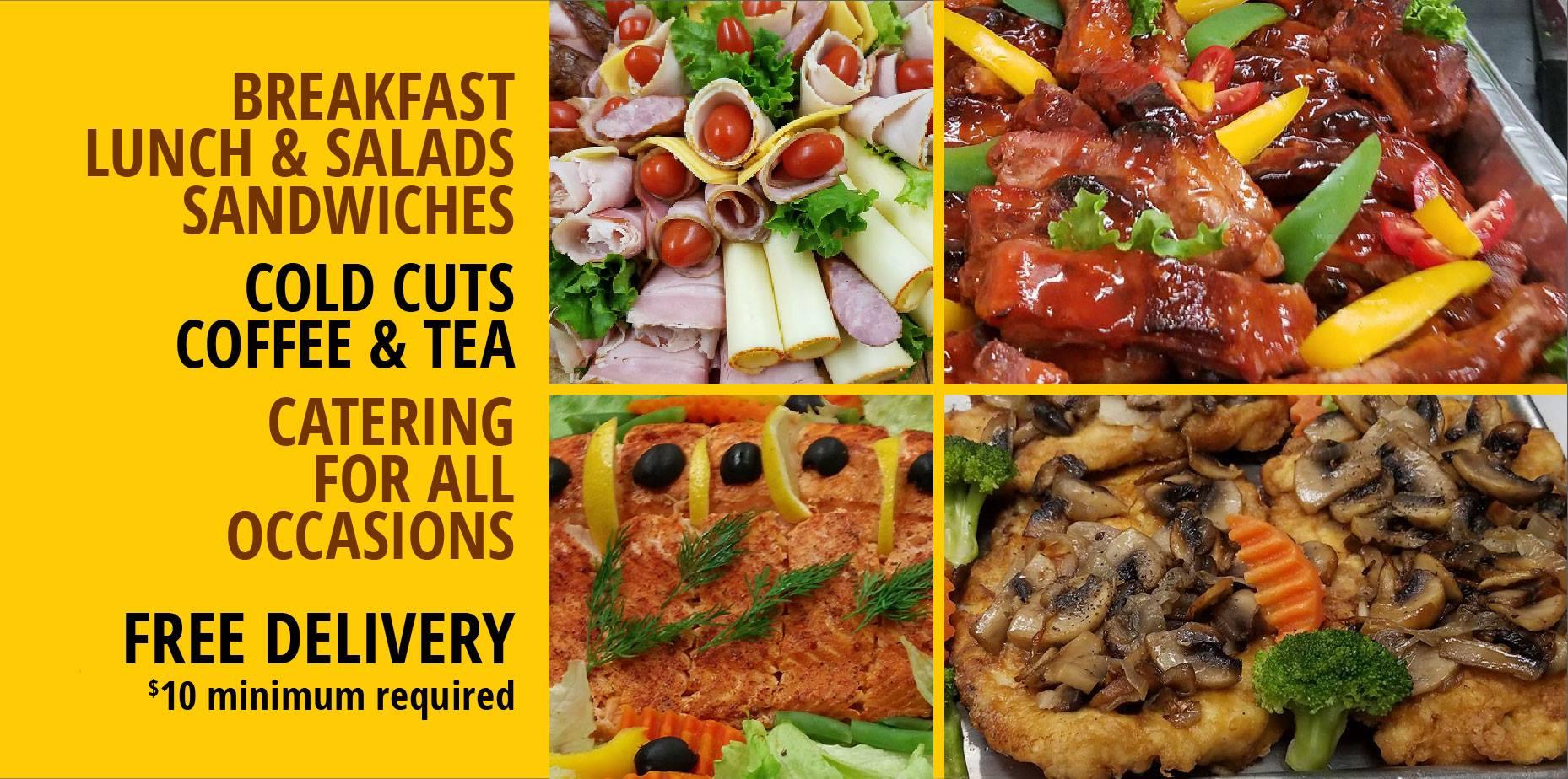 Polskie obiady, catering na komunię, wesele i inną uroczystość w Park Deli  w Nowym Jorku