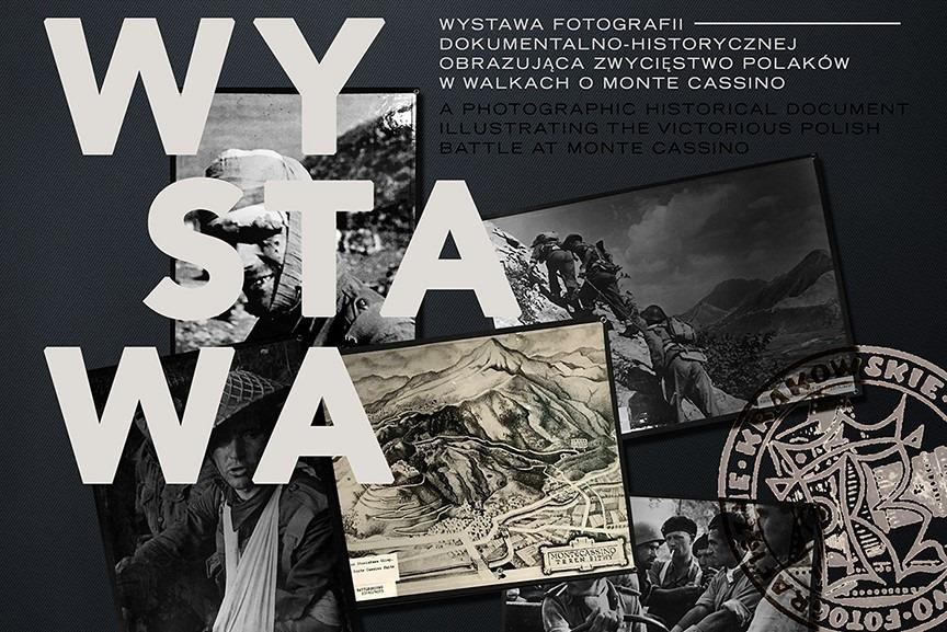 """Otwarcie wystawy fotografii wojennych """"Polacy zdobyli Monte Cassino"""" w Nowym Jorku"""