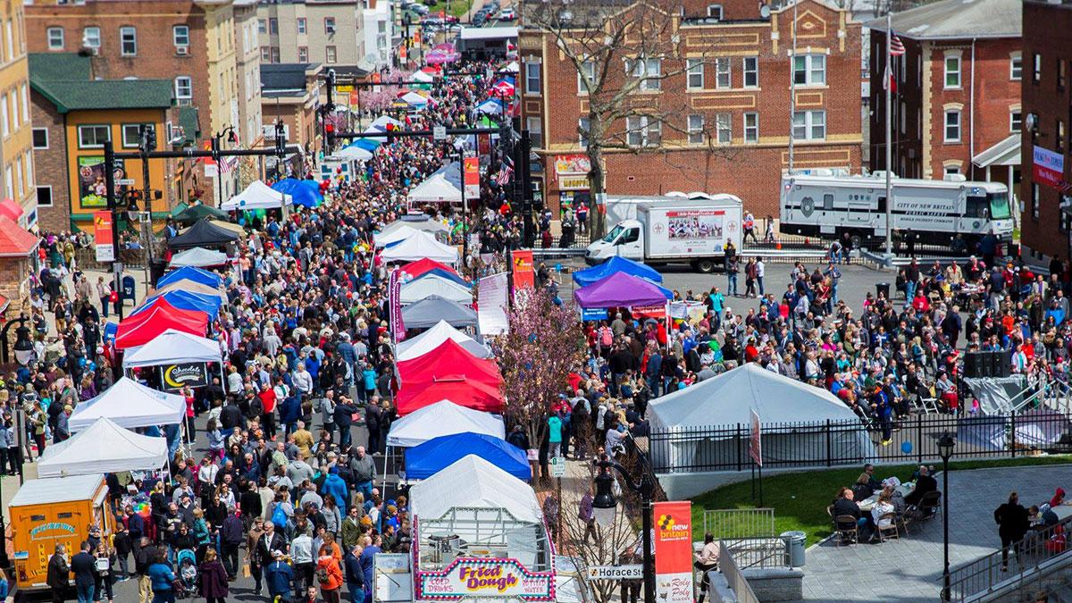Little Poland Festival 2019 in New Britain, CT