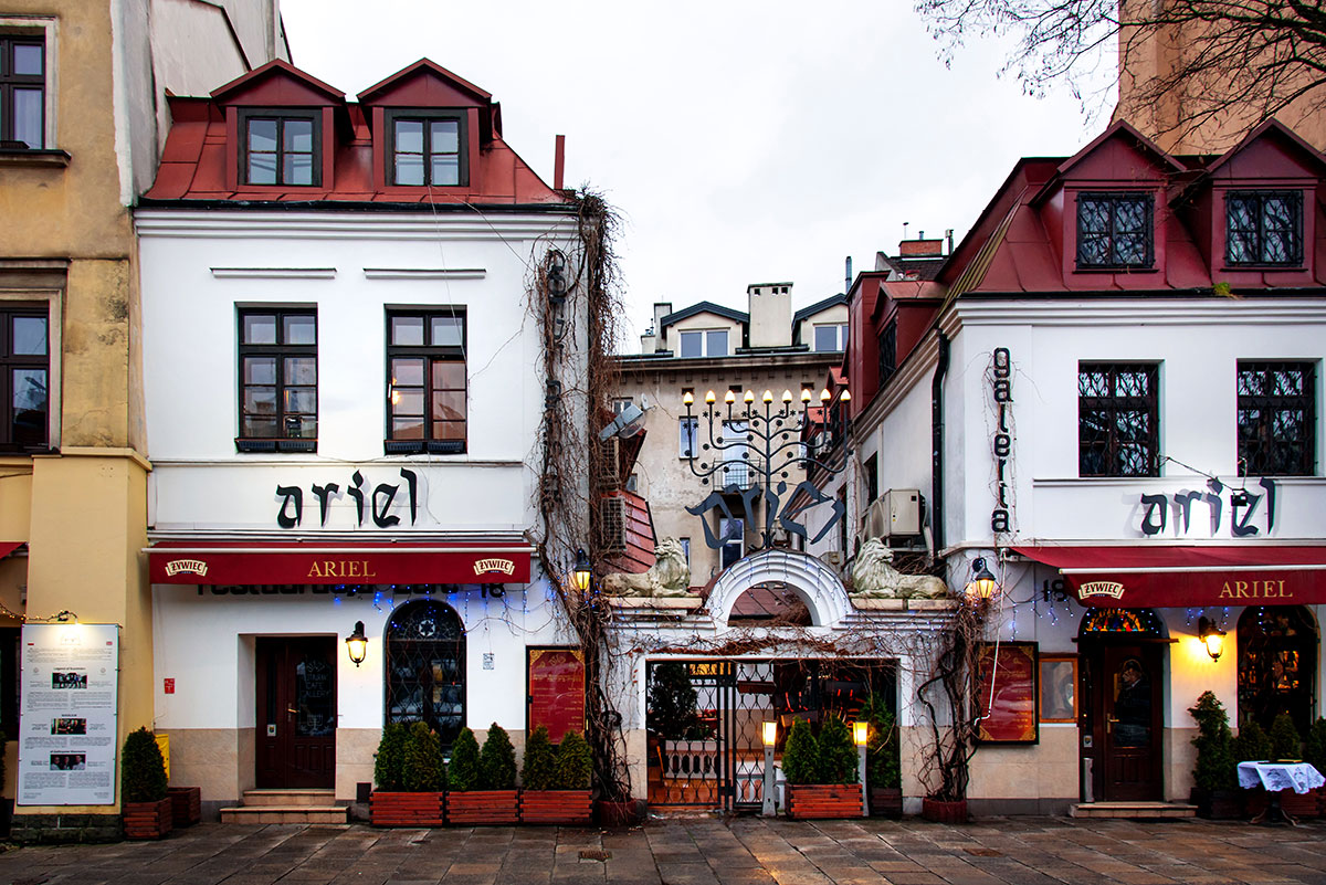 Krakow, Poland. Kazimierz the Former Jewish District in Krakow Poland, the main cultural center of the Polish Jewry for centuries. Foto: Creative Family